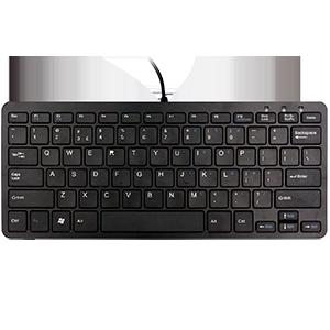 bedraad ergonomisch toetsenbord