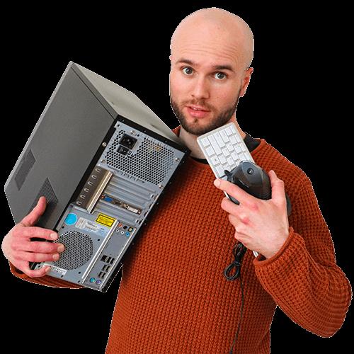 PC werkplekpakketten met voordeel